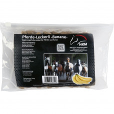 Horse titbits with banana flavour, 750 g