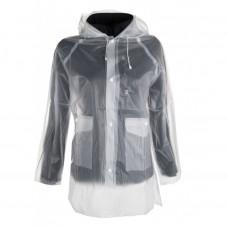 Rain jacket, transparent