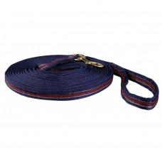 Lunge line -navy blue, red 8m