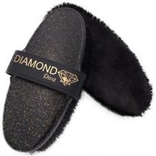 Diva Diamond Merino Lambswool Horse Brush
