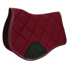 """Equitheme"""" competition """" saddle pad red"""