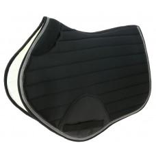 "Equitheme"" competition "" saddle pad black"