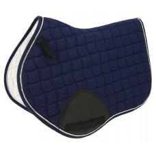 "Equitheme"" infinity "" saddle pad dark blue"