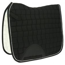 "Equitheme"" sport "" dressage saddle pad black"