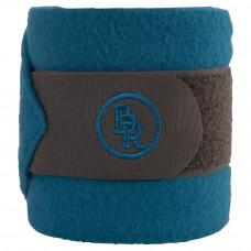 BR Fleece Bandages Melange Exclusive Grey/Carribea