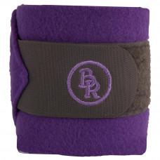 BR Fleece Bandages Melange Exclusive Grey/Purple