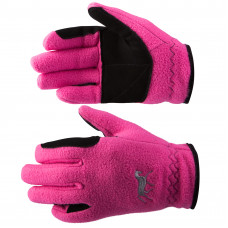 Horze Kids Fleece Gloves - pink