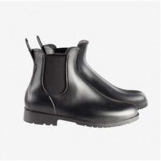 Horze Palermo Rubber Jodhpur Boots - black