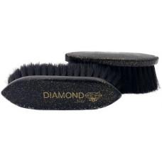 Diamond NOIR small, with horsehair 5 cm