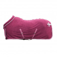 Cooler with collar - dark red