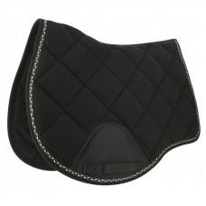 "Equitheme"" infinity "" saddle pad black"