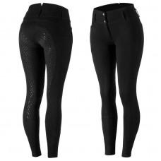 Horze Daniela Women's Silicone FS Breeches Black