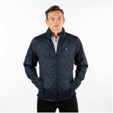 Horze Maxwell Men's Lightweight Padded Jacket - dark navy