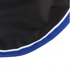 Endura quarter sheet, w/ fleece lining Black/Blue