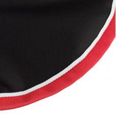 Endura quarter sheet, w/ fleece lining Black/Red