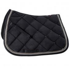 B Vertigo Velour Lux All Purpose Saddle Pad dark blue