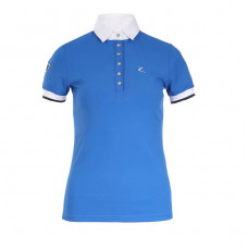 Horze Ines Women's Technical Pique Light blue