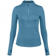 Horze Brittany Functional Women's Shirt Indian Teal Blue