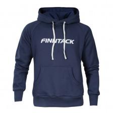 Finntack Pro Sweatshirt with Hood Blue