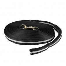 Orbit Lunging Line, Textile Black 8,5m